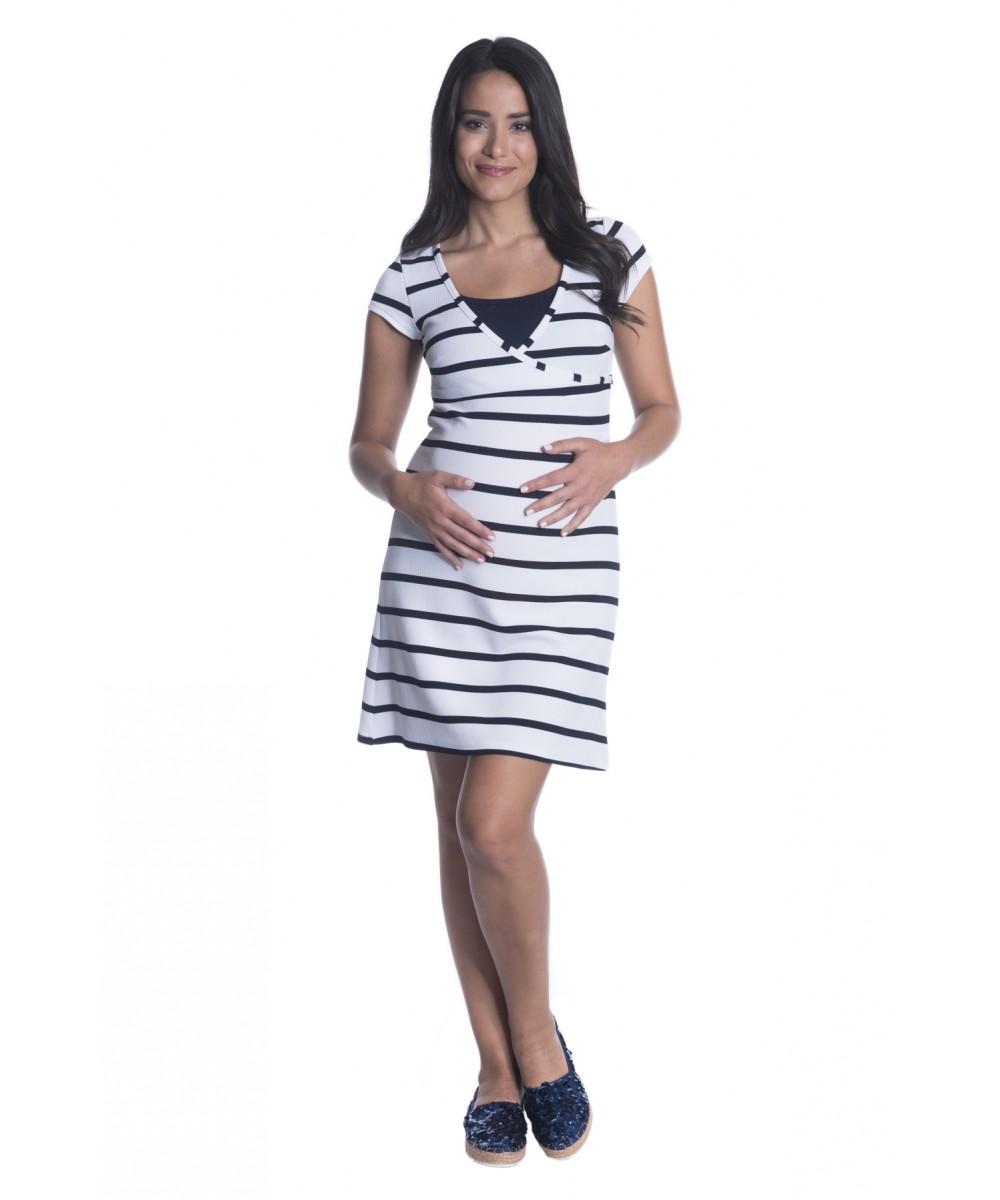 Φόρεμα ελαστικό θηλασμού