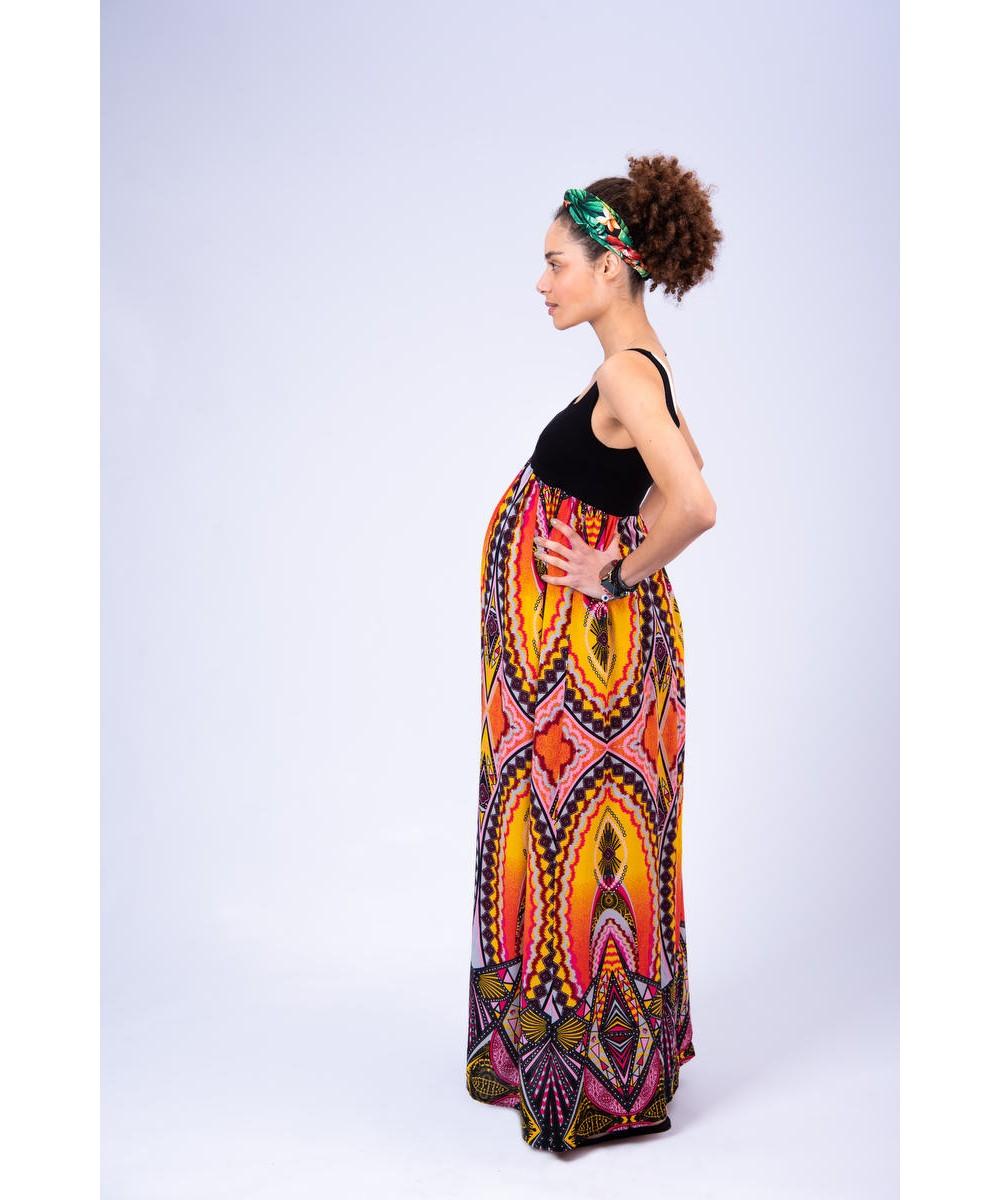Φόρεμα εγκυμοσύνης maxi